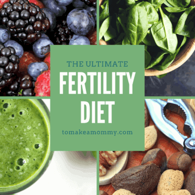 The To Make a Mommy Fertility Diet: Nourish your body with clean, whole foods