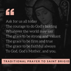 Prayer to St Brigid for Fertility Saint Bridget during Infertility and TTC