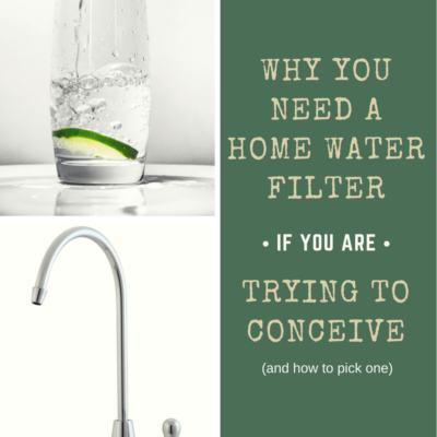 The Best Water Filter for Fertility