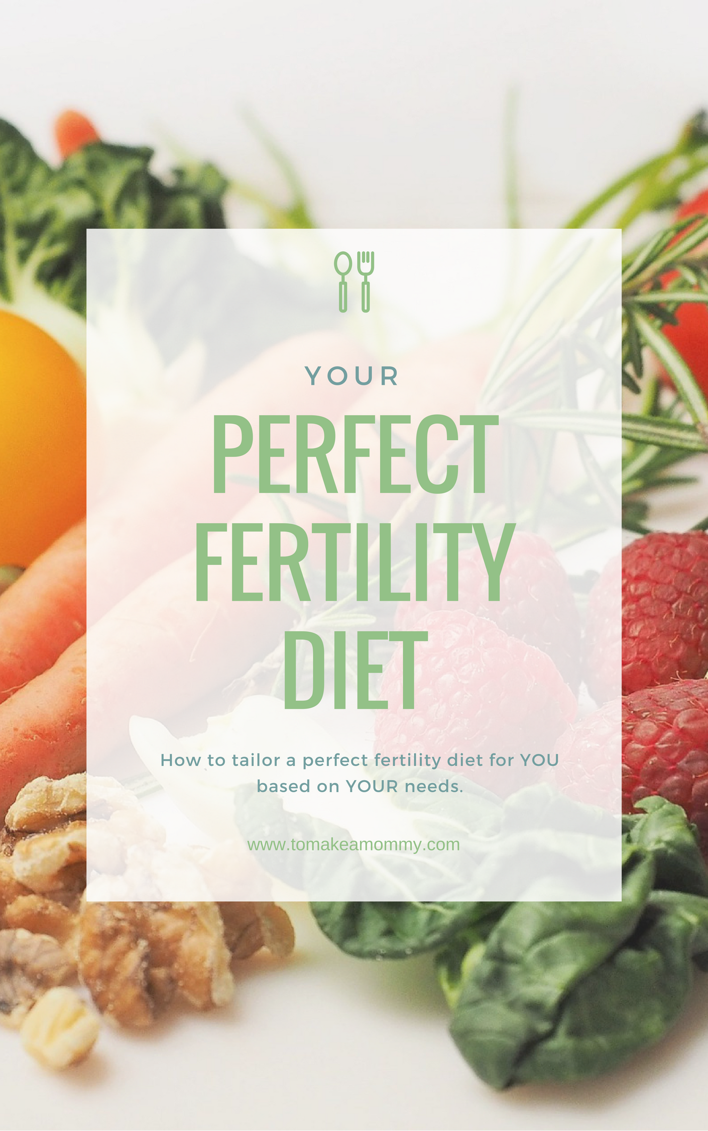 Does all the conflicting advise about fertility diets make you crazy! Here is the answer- you have to TAILOR the diet to YOUR needs- whether it is endometriosis, PCOS, high FSH, anovulation, or other infertility issue-- your diet needs to be perfect for YOU. This is a post and free e-book you can download!!