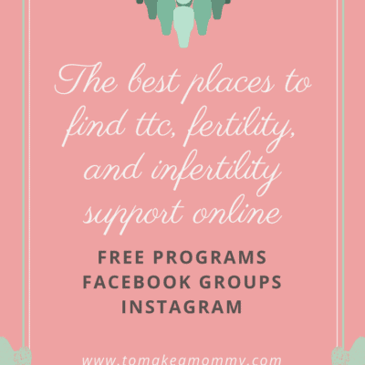 The best (free) places to find fertility community online