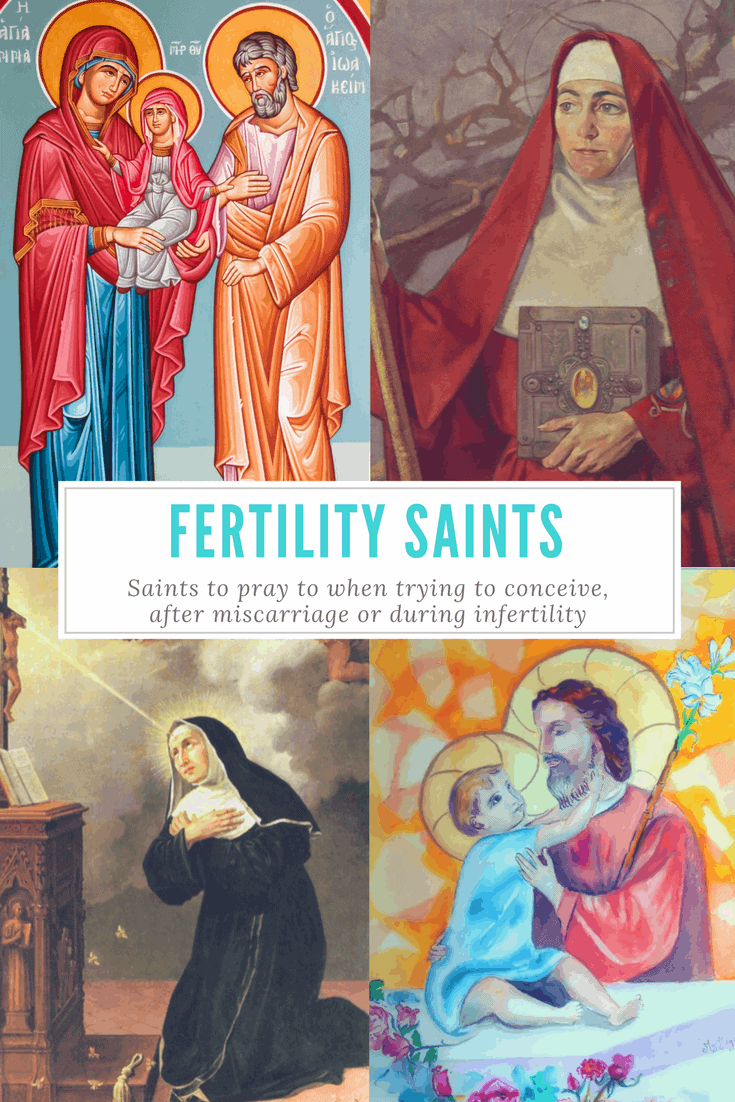 Catholic Patron Saints of Fertility, Infertility
