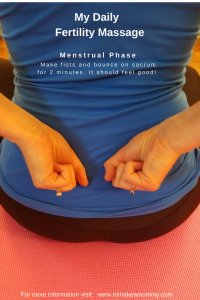 Gentle Fertility Massage and Visualization for Menstruation/ On your period