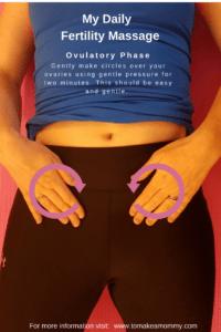 Mayan Fertility Self Massage for Ovulatory Phase with Ovulation Visualization