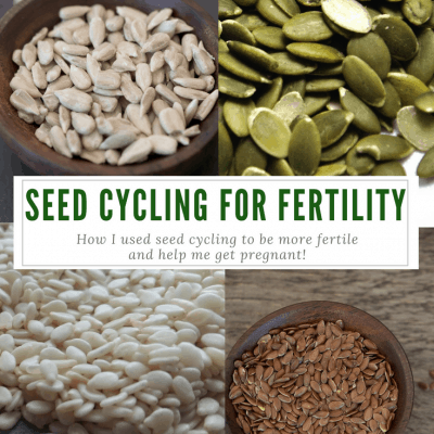Seed Cycling for Fertility: How I used seeds to get pregnant after infertility