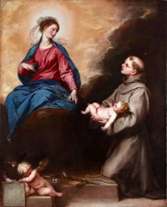 Saint Anthony, Patron saint of those trying to become pregnant