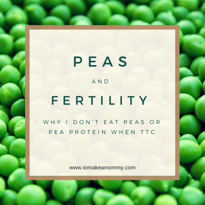 Peas & Fertility: Can Peas and Pea protein cause infertility?