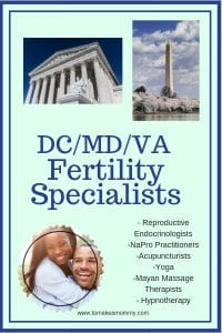 DC Maryland Virginia Fertility and Infertility Specialists