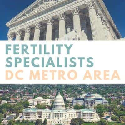 DC MD VA Infertility Specialists and Fertility Practitioners (DMV)