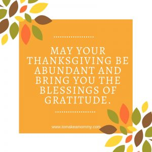 Abundance and Fertility and Thanksgiving #fertility #infertility #ttc