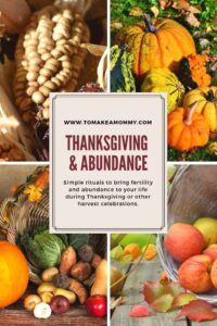 The true roots of Thanksgiving- a harvest holiday similar to pagan holidays all over the world! #harvest #thanksgiving #pagan #fertility #infertility