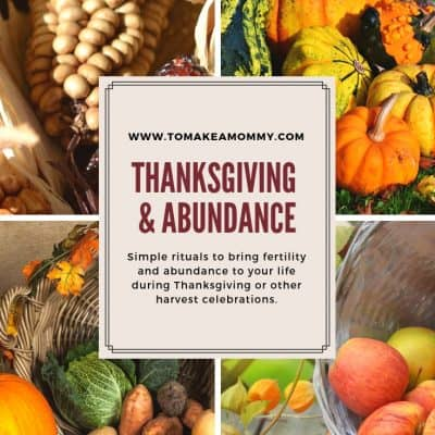 Thanksgiving as Fertility Holiday- Symbols, Feasting, and Gratitude