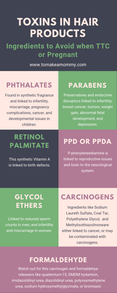 What ingredients in shampoo, conditioner, and hair products to avoid when trying to conceive or pregnant.. #nontoxic #ttc #fertility #infertility #pregnancy