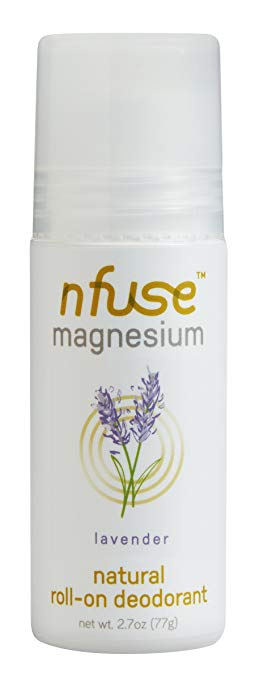 An awesome magnesium infused deodorant
