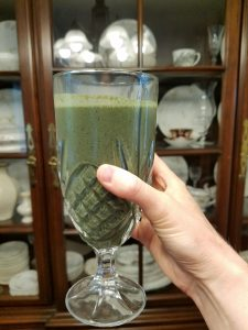 The fertility smoothie that helped me get pregnant during High FSH, low AMH, MTHFR, and repeated miscarriages during infertility.