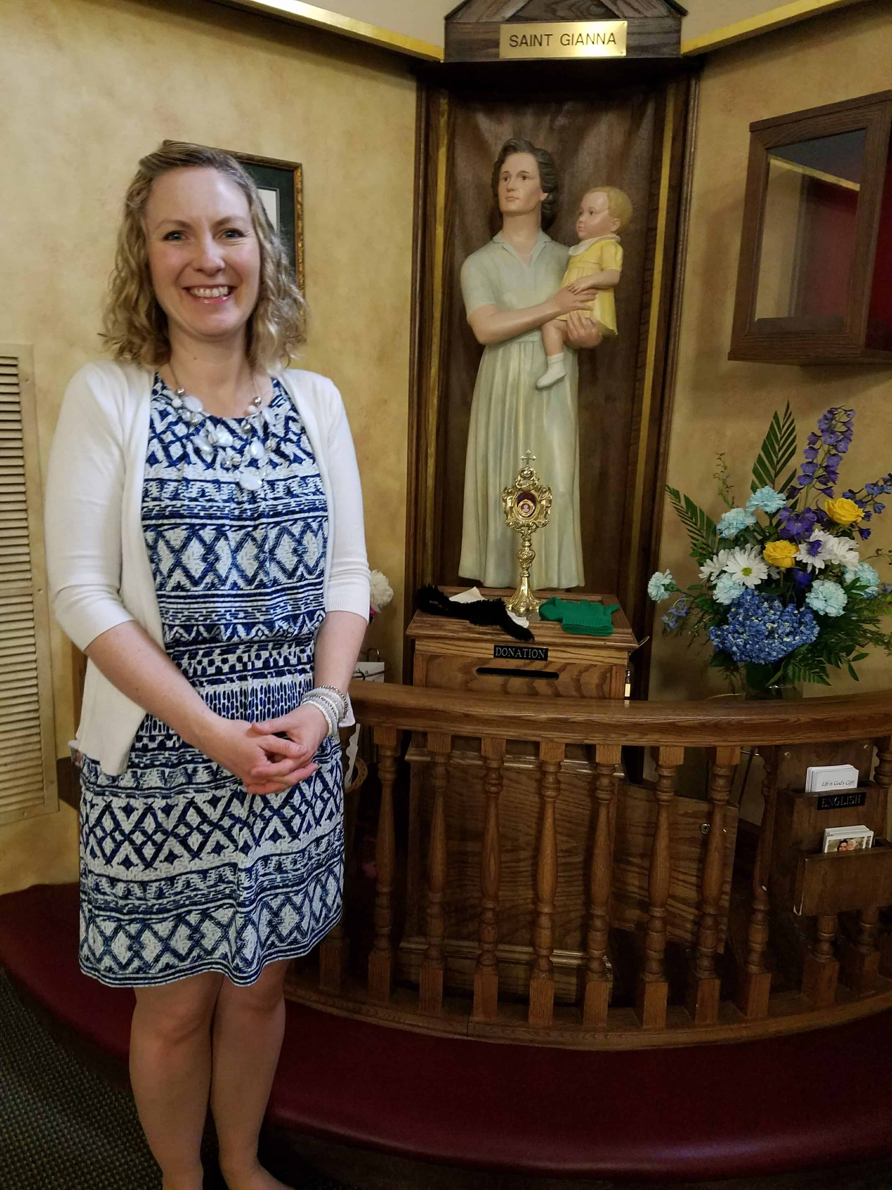 Praying to Saint Gianna Beretta Molla for Fertility - To Make a Mommy