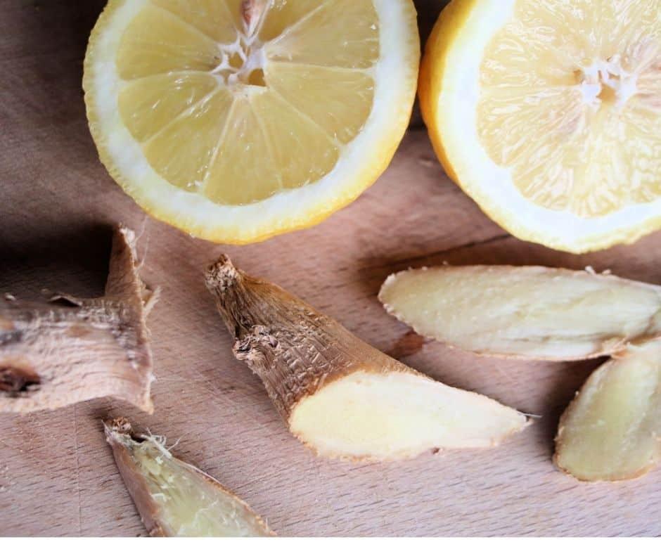 Lemon and Ginger for fertility
