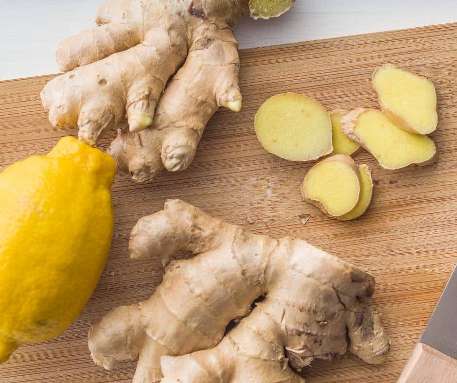 Fertility Smoothie with Lemon and Ginger