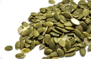 pumpkin seeds are great for male fertility and sperm health!