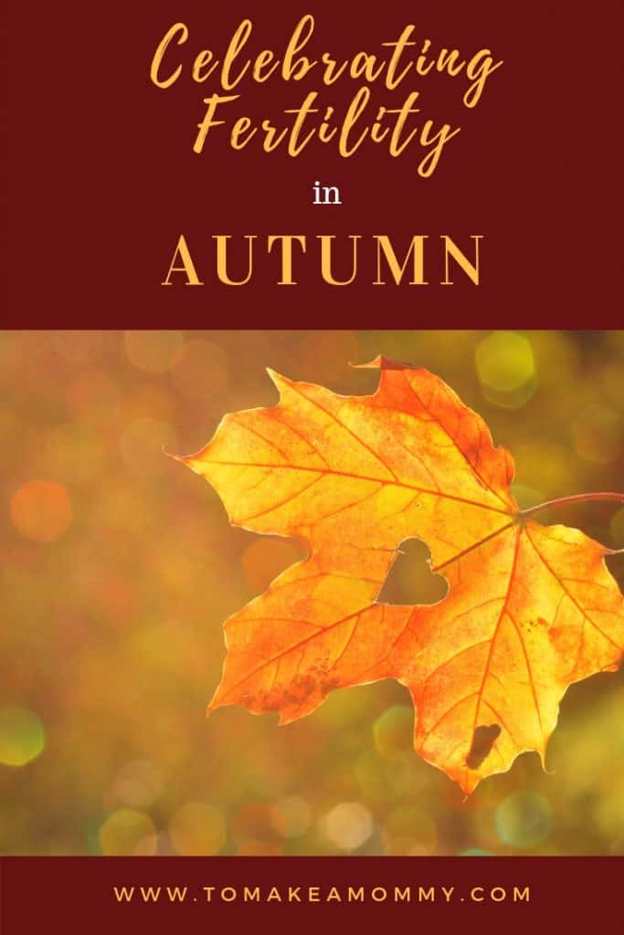 Simple rituals to celebrate and enhance your fertility at the autumnal equinox. #fertility #mabon #infertility