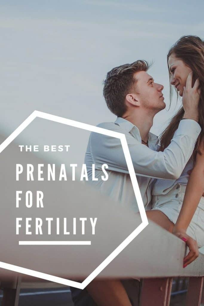 My favorite prenatals for fertility, with food based folate, or methylfolate for MTHFR mutation ladies!
