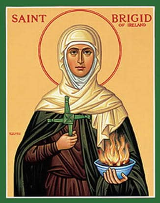 I love praying with St. Brigid, including for fertility when trying to conceive!