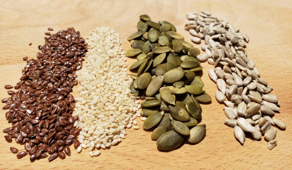 Seed cycling for fertility, how I used seed cycling to help me get pregnant after infertility and miscarriage