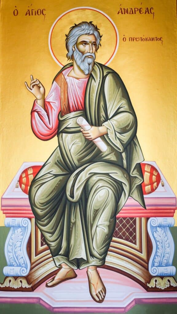 Praying to Saint Andrew to try to conceive a baby, fertility