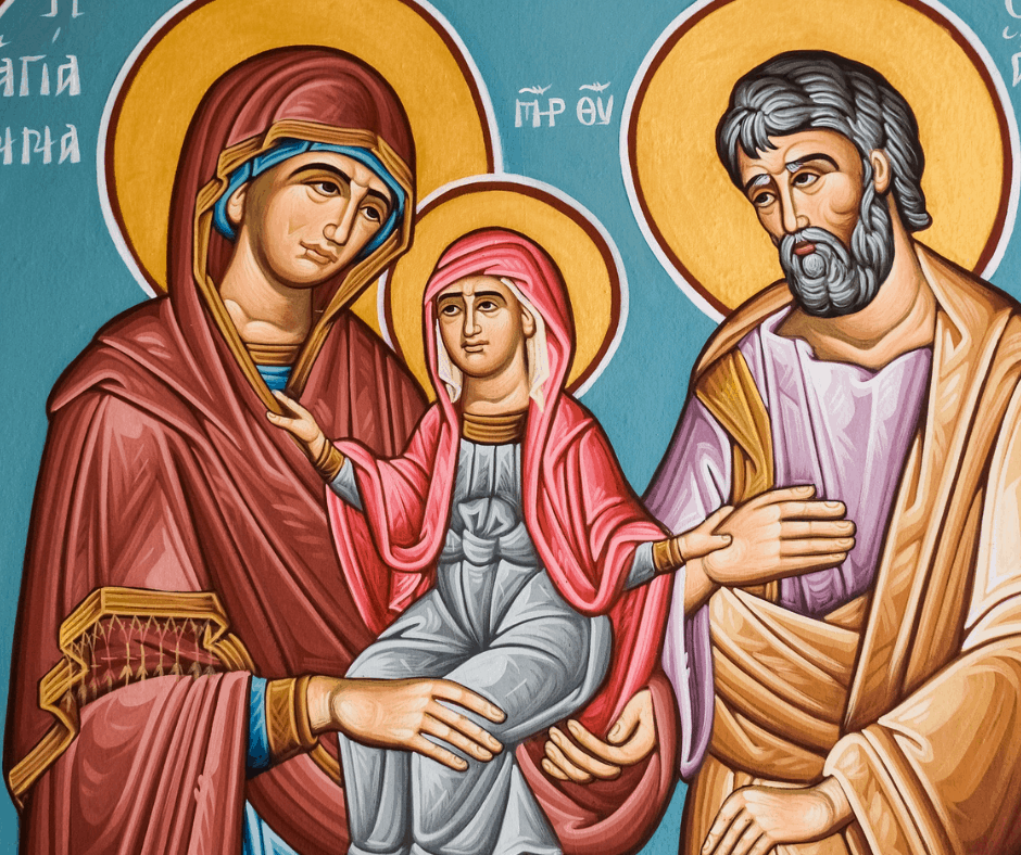 Novena to get pregnant quickly, praying with patron saints of fertility, pregnancy, and infertility